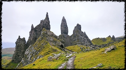 Portree, Old Man of Storr, September 2015