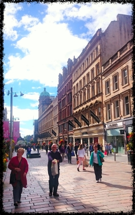 Innenstadt Glasgow