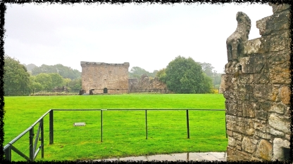 Craignethan Castle, südöstlich von Glasgow
