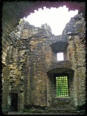 Craignethan Castle von innen
