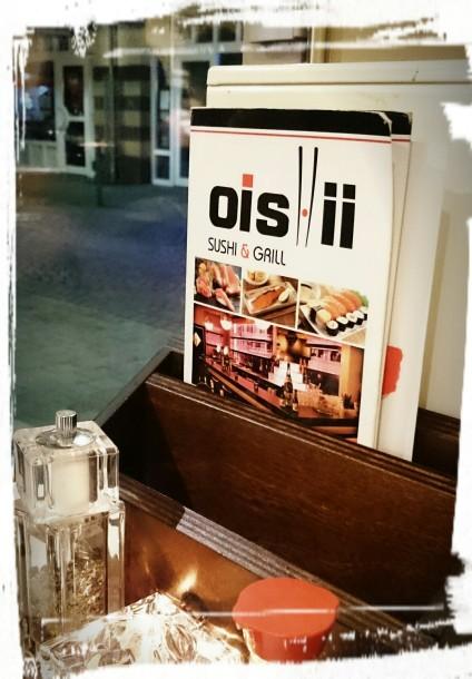 Die Karte im Oishii...