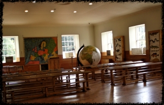 Das Klassenzimmer in New Lanark