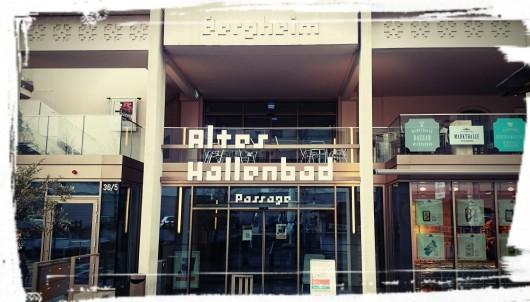 Eingang ins Alte Hallenbad