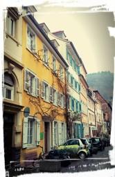 Kleine Gasse in Heidelberg
