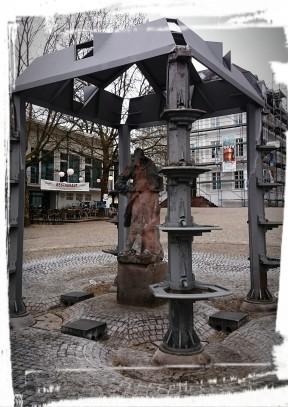 Brunnen auf dem Schlossplatz, Saarbrücken