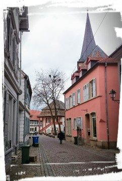 Blick aufs Alte Rathaus, Freinsheim