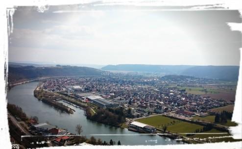 Ausblick in (grobe) Richtung Heilbronn
