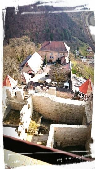 ...und Aussicht vom Turm