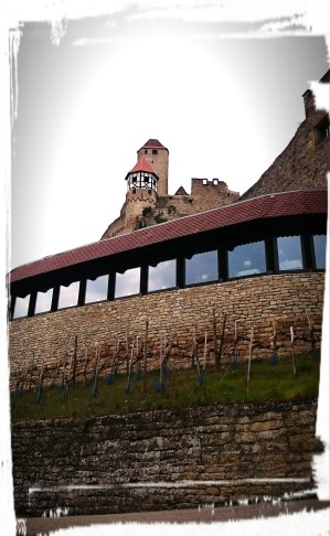 Restaurant Burg Hornberg von Außen