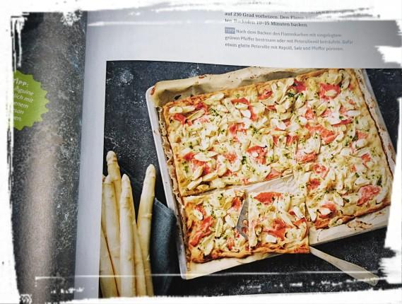 """Rezept vom Flammkuchen, """"Einfach Hausgemacht"""" 3/2016"""