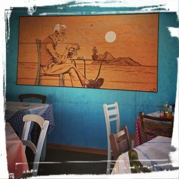 ...in der Taverne Eleni, Matala/Kreta
