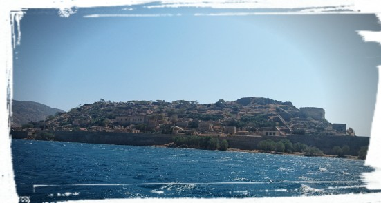 Blick auf Spinalonga, Kreta