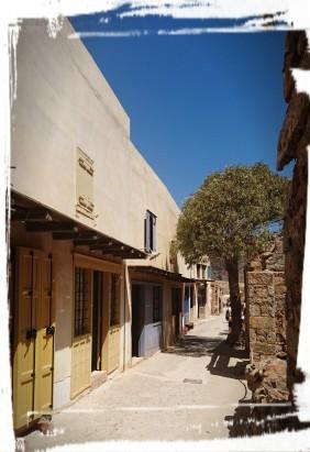 Wohnhäuser auf Spinalonga