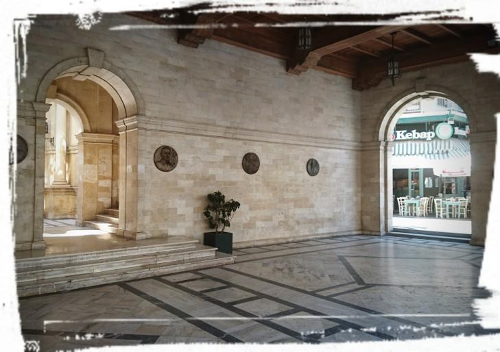 Die venezianische Loggia
