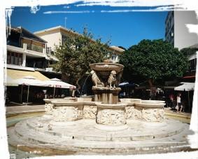 Der Morosini-Brunnen