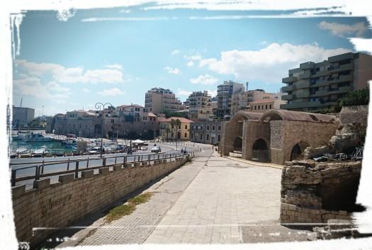Am Hafen von Iraklio...