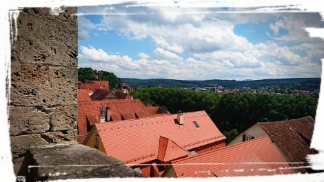 Aussicht von Schloss Hohentübingen