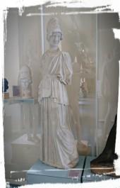 Athene, im Museum der Uni Tübingen