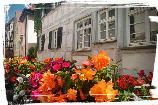 Im Eiscafé San Marco, Tübingen