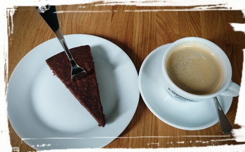 Schoko-Tarte & Kaffee, bei Fräulein Ohrt