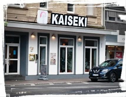 Das Kaiseki außen...