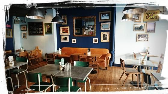 Ein Gastraum im Jamie's Italian Greenwich, London