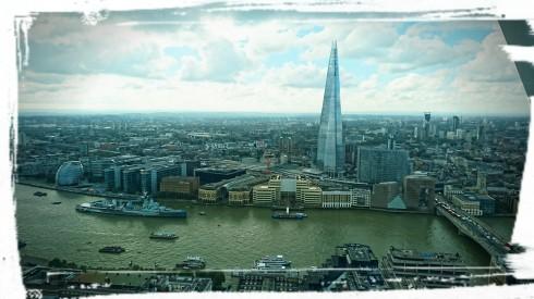 Ausblick vom Sky Garden, London