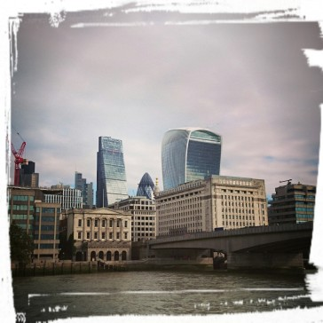 Alt und neu in London
