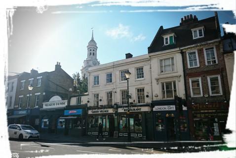 Straßenbild von Greenwich