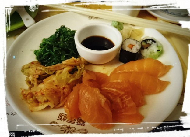 Sushi und Kimchi, im Asia-Palast