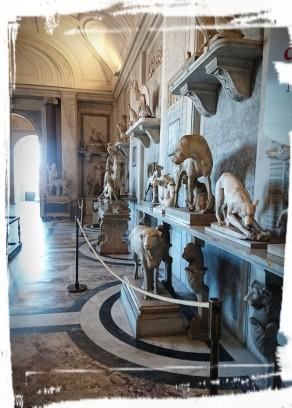 Im Vatikanmuseum