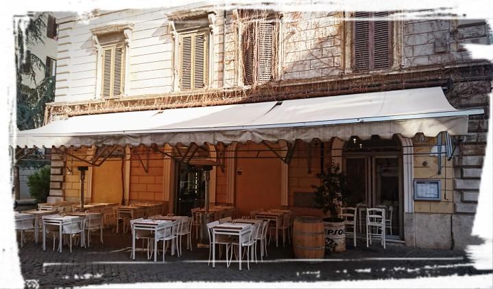 Terrasse des Il Mozzicone, Rom