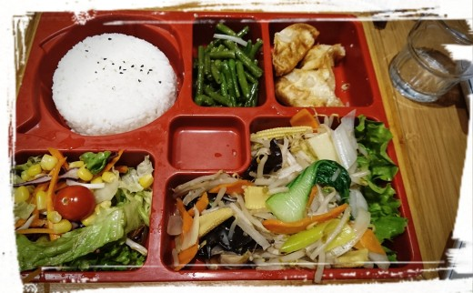 Vegetarische Bento-Box