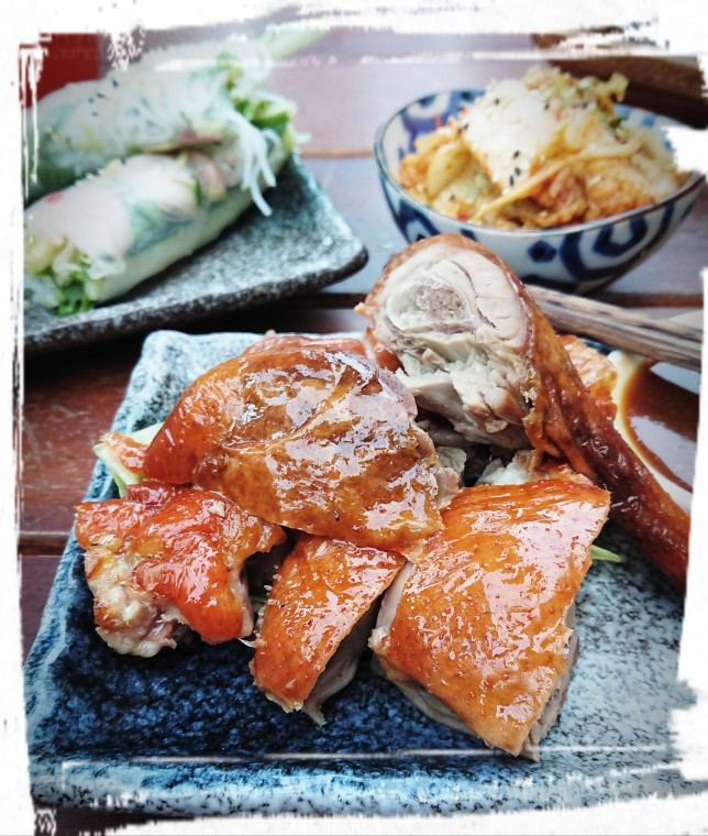 Kantonesische Grill-Ente
